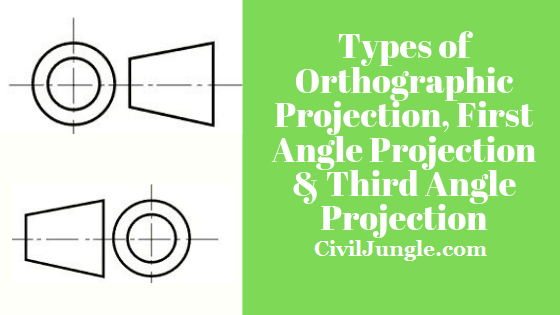 First angle projection symbol