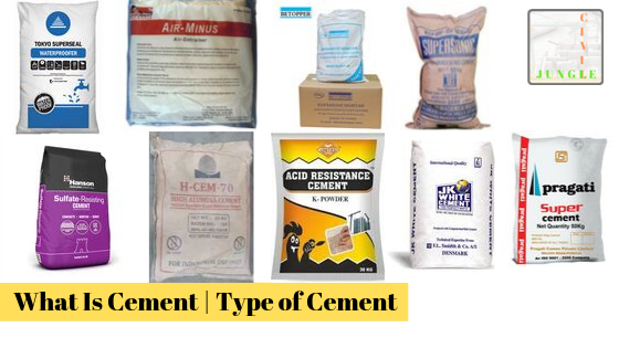 What Is Cement | Type of Cement