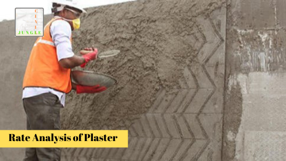Rate Analysis of Plaster