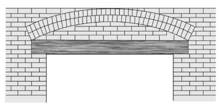 Timber Lintel