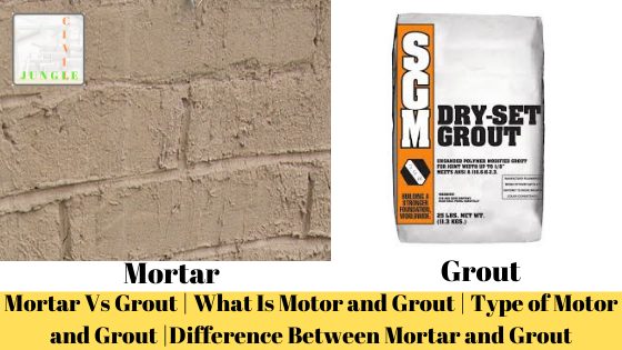 Mortar Vs Grout