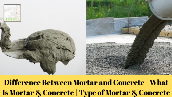 Mortar Vs Concrete