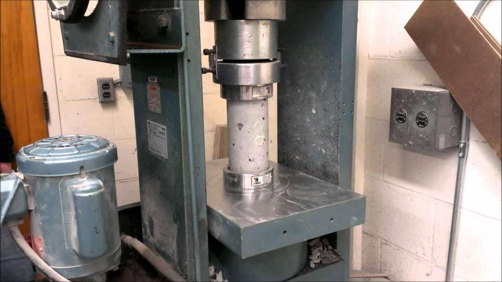 Core Extraction for Compressive Strength Test