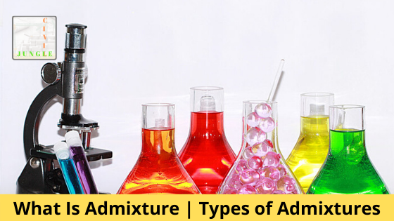 What Is Admixture | Types of Admixtures