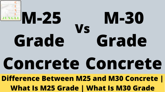 M25 and M30 Concrete