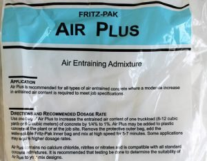 Air Entraining Admixtures