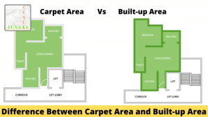 Difference Between Carpet Area and Built-up Area