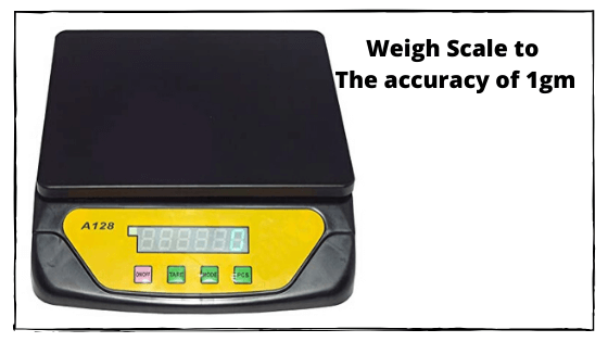 Weigh Scale to The accuracy of 1gm