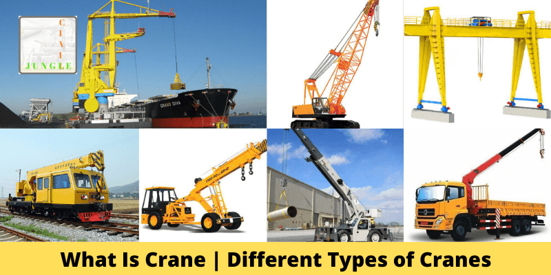 What Is Crane _ Different Types of Cranes