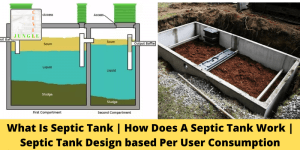 What Is Septic Tank | How Does A Septic Tank Work | Septic Tank Design based Per User Consumption