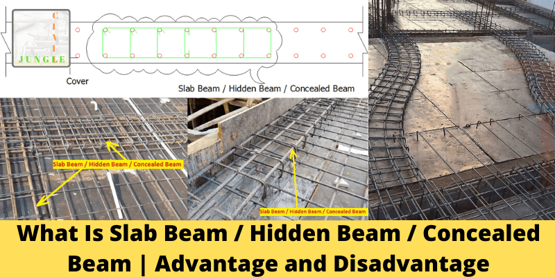 What Is Slab Beam _ Hidden Beam _ Concealed Beam _ Advantage and Disadvantage