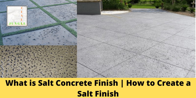 What is Salt Concrete Finish _ How to Create a Salt Finish
