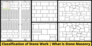Classification of Stone Work