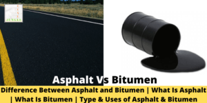 Asphalt and Bitumen