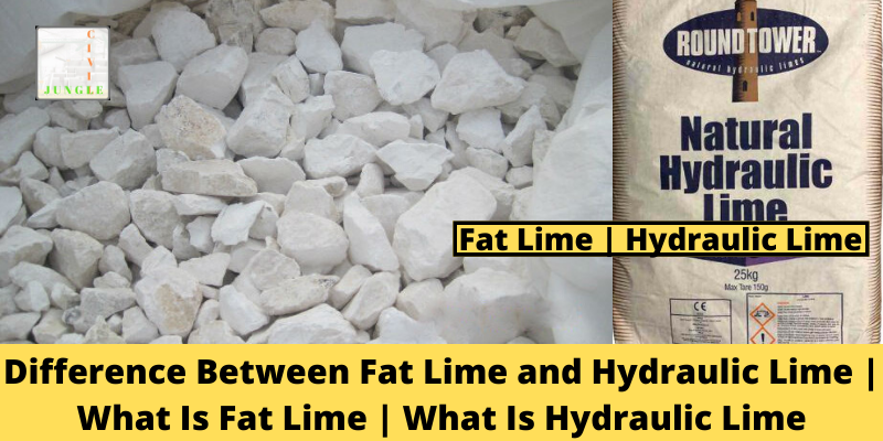 Fat Lime and Hydraulic Lime