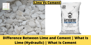 Lime Vs Cement