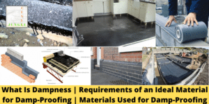 Materials Used for Damp-Proofing