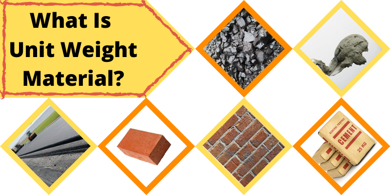 What Is Unit Weight Material_