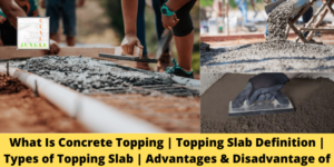 Topping Slab