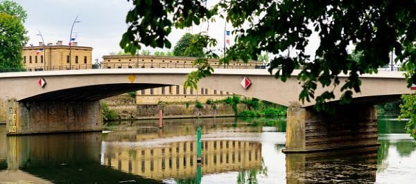 Moselle River at Thionville, France
