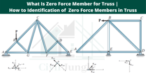Zero Force Member for Truss