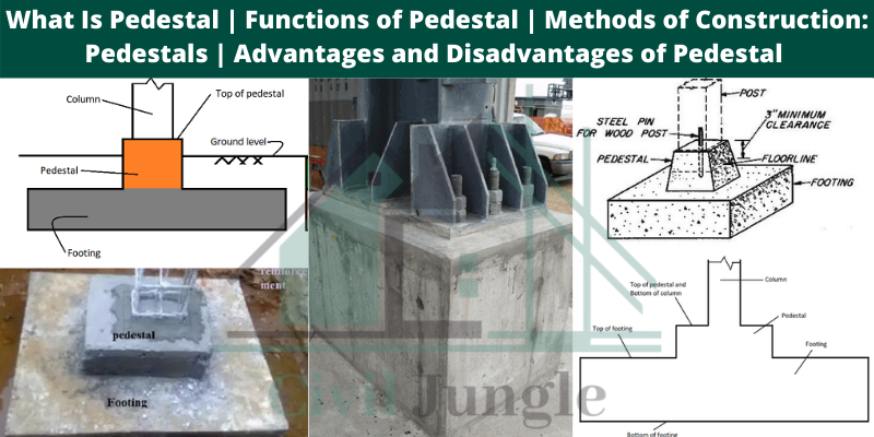 Functions of Pedestal