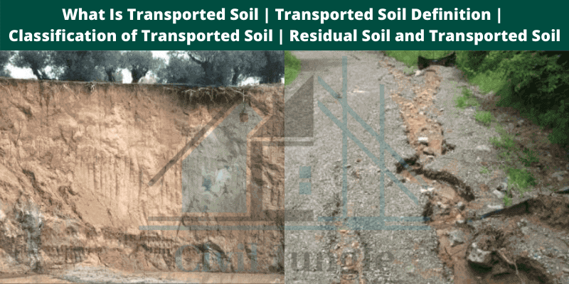 What Is Transported Soil