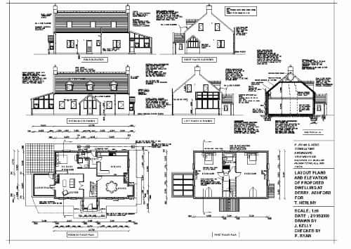 Construction Drawing/Working Drawing