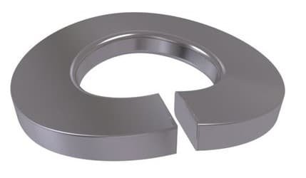 Curved Spring Washer