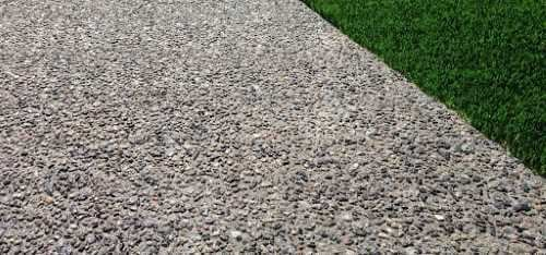 Exposed Aggregate Finish