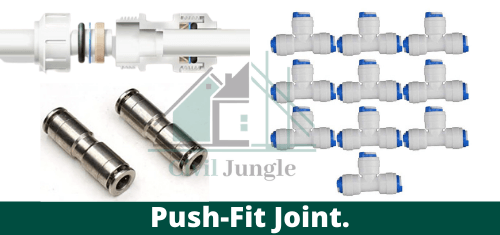 Push-Fit Joint.