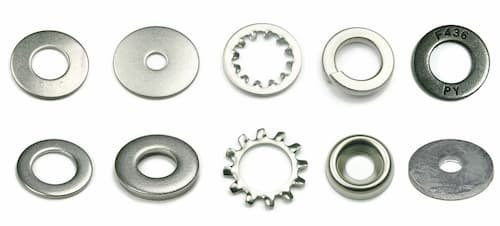 Shapes of Washers