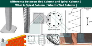 Tied Column and Spiral Column