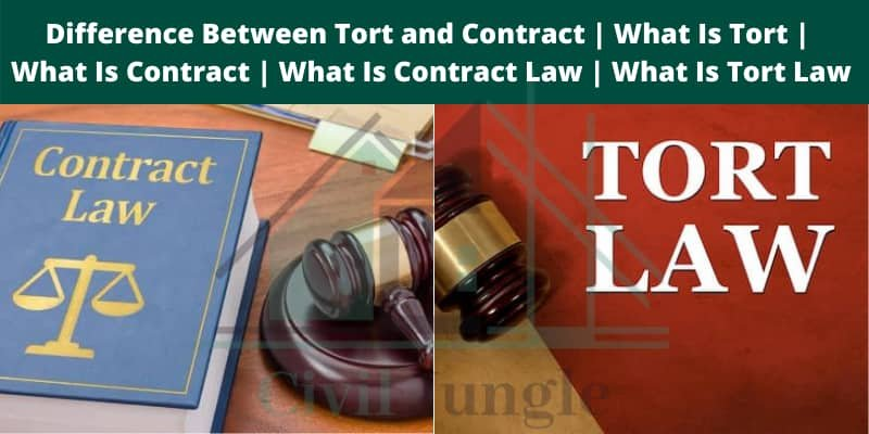Tort and Contract