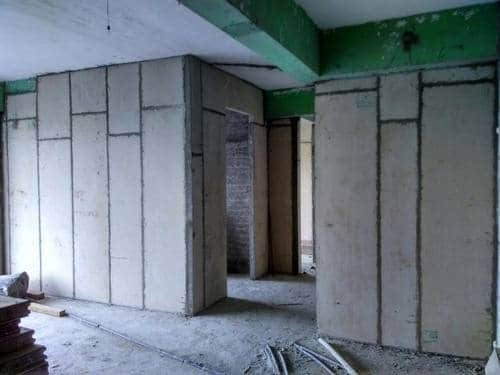 Asbestos Cement Partition Wall