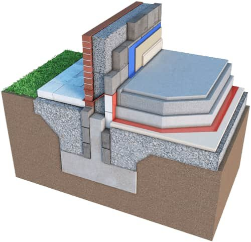 Cavity Wall Foundation Detail