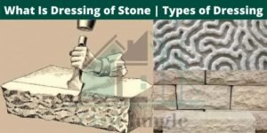 Dressing of Stone