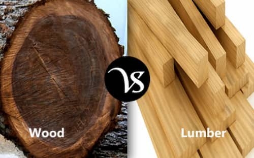 Lumber Vs Wood