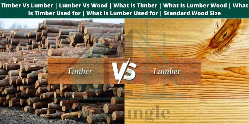 Timber Vs Lumber