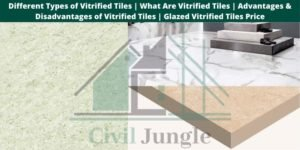 Types of Vitrified Tiles