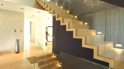 folded plate staircase