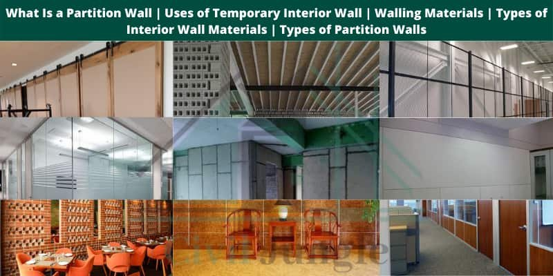 types-of-partition-walls
