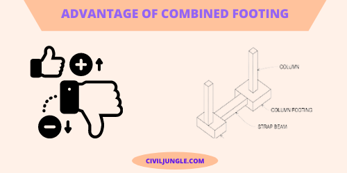 Advantage of Combined Footing