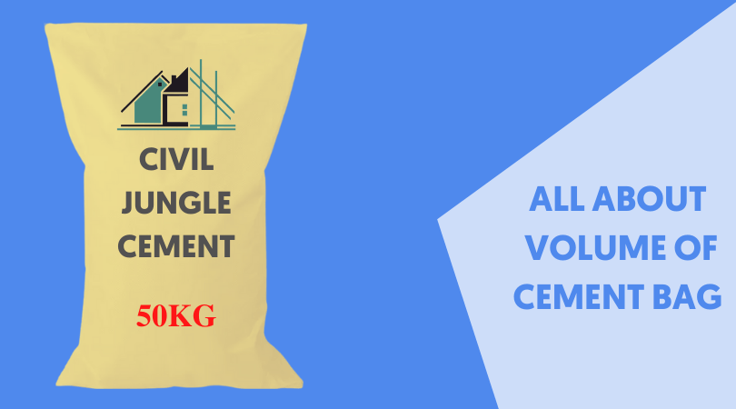All About Volume of Cement Bag