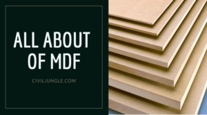 All About of MDF