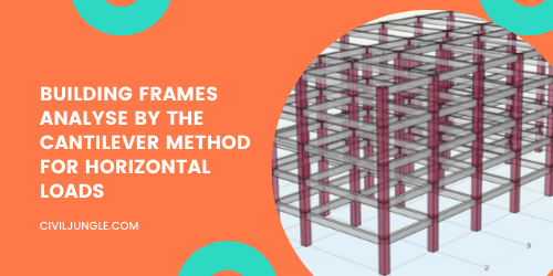 Building Frames Analyse by the Cantilever Method for Horizontal Loads