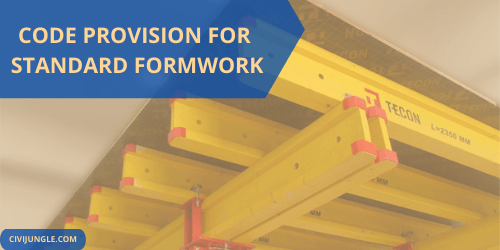 Code Provision for Standard Formwork