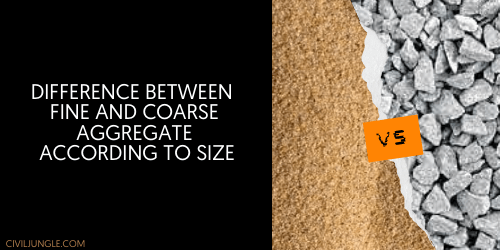 Difference Between Fine and Coarse Aggregate_ According to Size