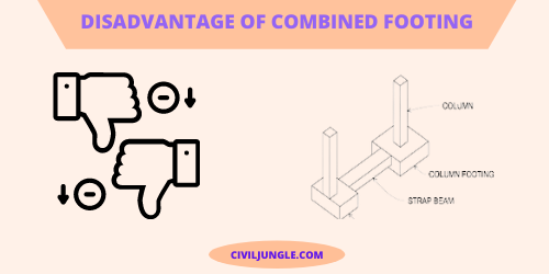 Disadvantage of Combined Footing