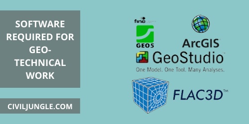 Software Required for Geo-Technical Work